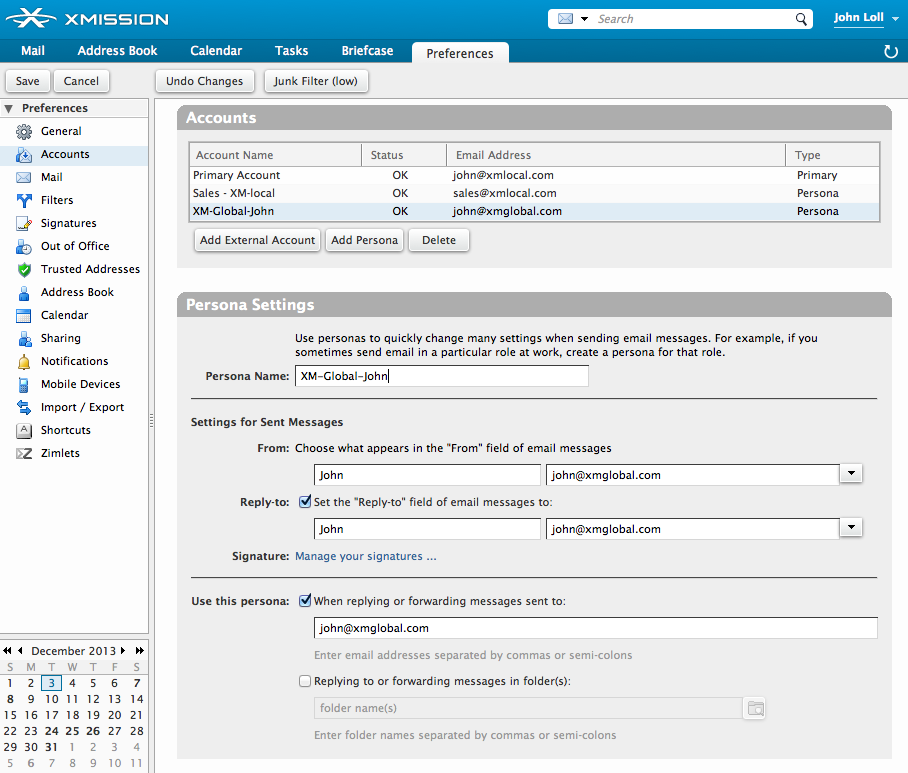 Zimbra Power Tip: Use Persona settings to easily manage emails and ...