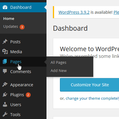 How to edit your WordPress site content | Transmission